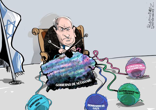 Receta de Netanyahu: bombardear para formar Gobierno