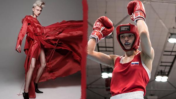 Svetlana Soluyanova, la campeona de Europa 2018 en boxeo femenino - Sputnik Mundo
