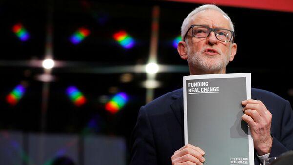 Jeremy Corbyn, lider laborista británico - Sputnik Mundo