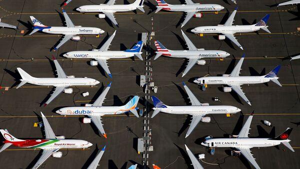 Los aviones retirados Boeing 737 MAX - Sputnik Mundo