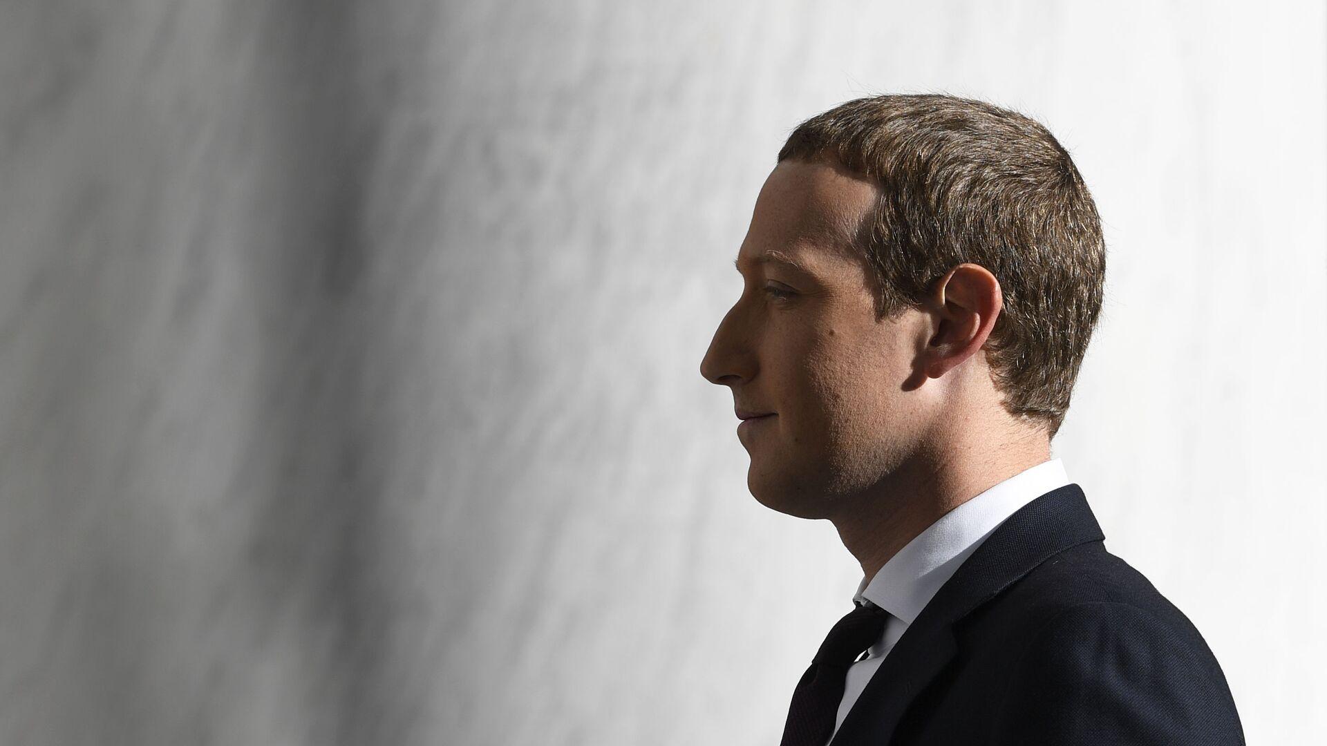 Mark Zuckerberg, fundador y presidente de Facebook - Sputnik Mundo, 1920, 15.04.2021