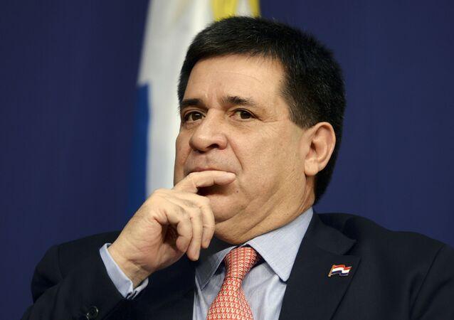 Horacio Cartes, expresidente de Paraguay