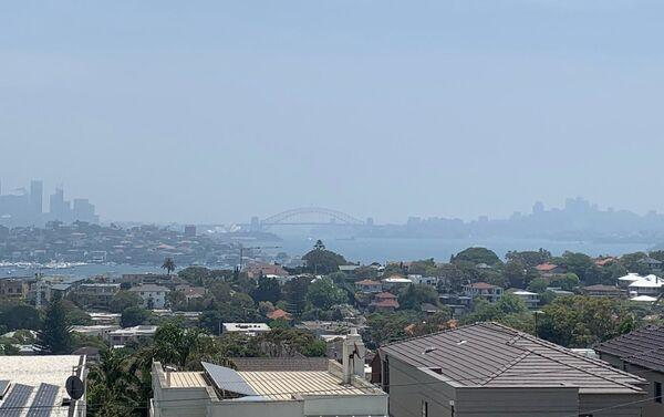 Incendios en Australia - Humo en la ciudad de Sidney - Sputnik Mundo