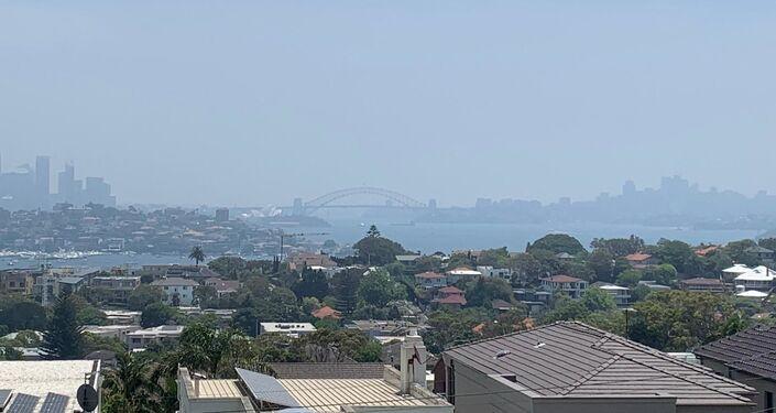 Incendios en Australia - Humo en la ciudad de Sidney
