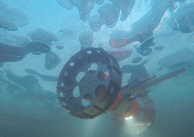 BRUIE, el nuevo róver acuático de la NASA