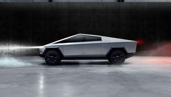 Cybertruck, nueva camioneta de Tesla - Sputnik Mundo
