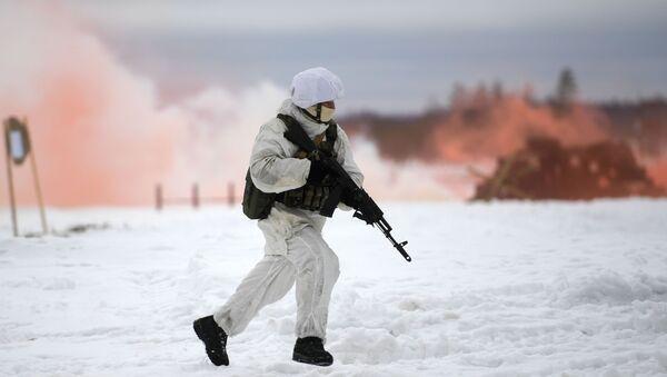 Fuerzas especiales rusas en Siberia (archivo) - Sputnik Mundo