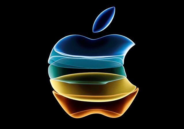 El logo de apple