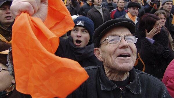 La Revolución Naranja en Ucrania - Sputnik Mundo