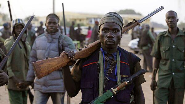 Combatientes en la lucha contra el yihadismo en África (archivo) - Sputnik Mundo