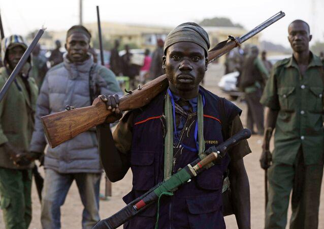 Combatientes en la lucha contra el yihadismo en África (archivo)