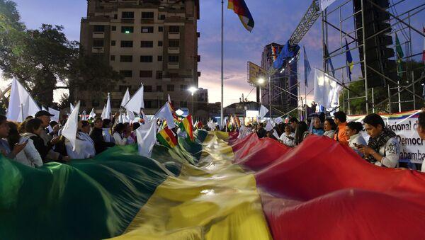 Situación en Bolivia - Sputnik Mundo