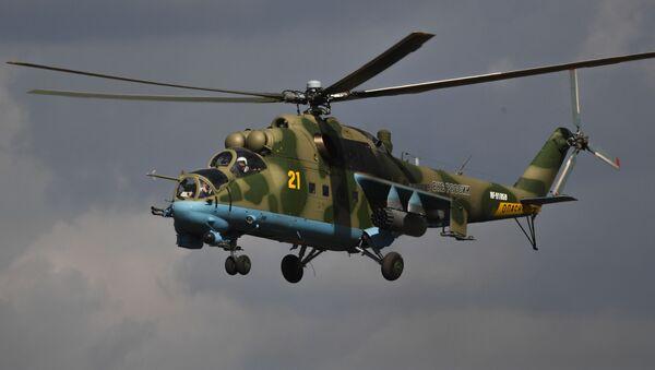 El Mi-24 de las FFAA de Rusia - Sputnik Mundo