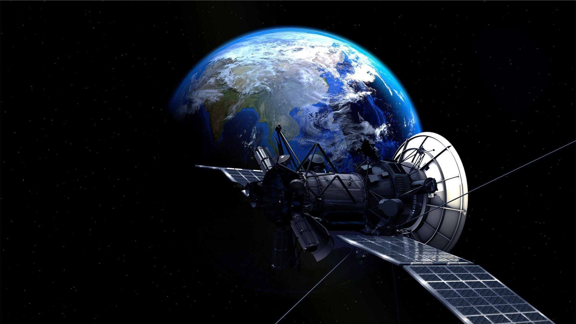 Un satélite en el espacio (imagen referencial) - Sputnik Mundo, 1920, 09.04.2021