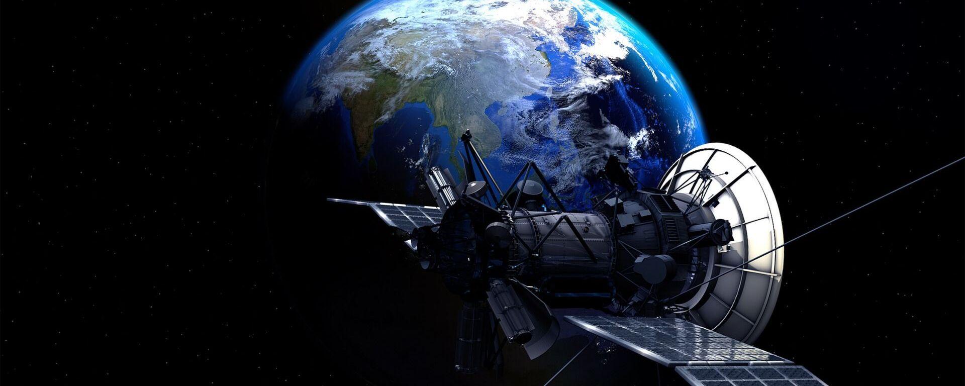 Un satélite en el espacio (imagen referencial) - Sputnik Mundo, 1920, 20.09.2020