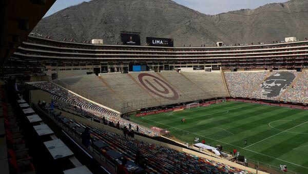 El estadio Monumental en Lima, Perú - Sputnik Mundo