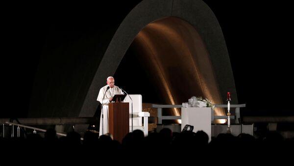 Papa Francisco en Nagasaki, Japón - Sputnik Mundo