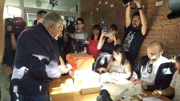 José Pepe Mujica, exmandatario uruguayo - Sputnik Mundo