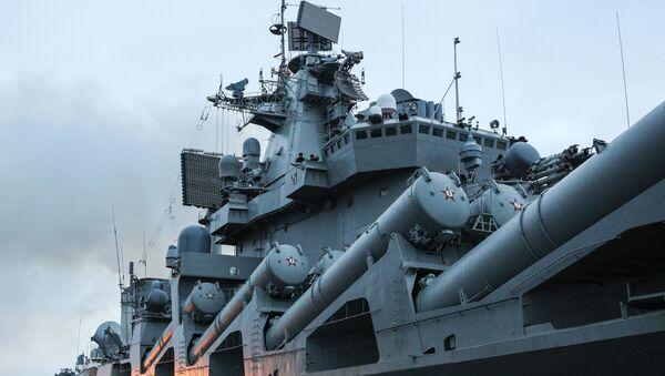 Un buque de la Armada de Rusia (archivo) - Sputnik Mundo