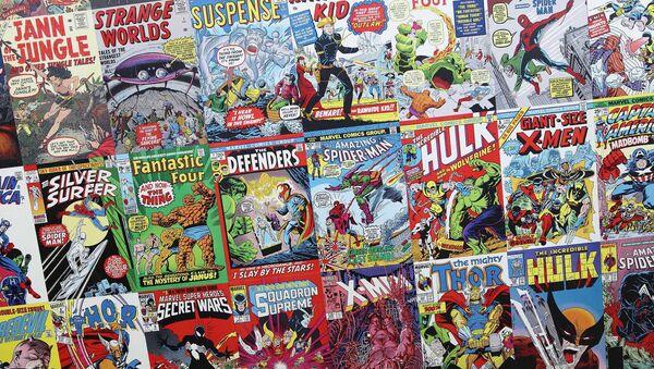 Cómics de Marvel, foto de archivo - Sputnik Mundo