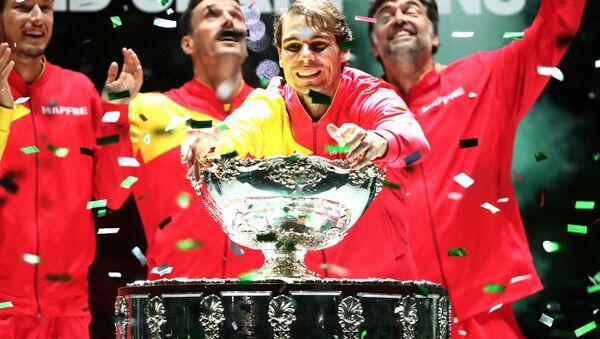 Rafael Nadal, tenista español - Sputnik Mundo