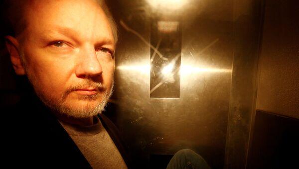 Julian Assange, el fundador de WikiLeaks - Sputnik Mundo