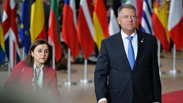 Klaus Johannis, el presidente de Rumania  - Sputnik Mundo