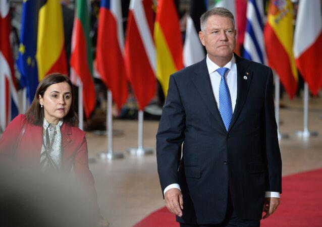Klaus Johannis, el presidente de Rumania