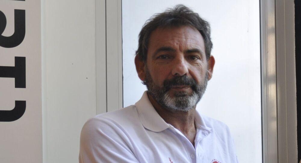 Òscar Camps, fundador de la ONG catalana Proactiva Open Arms