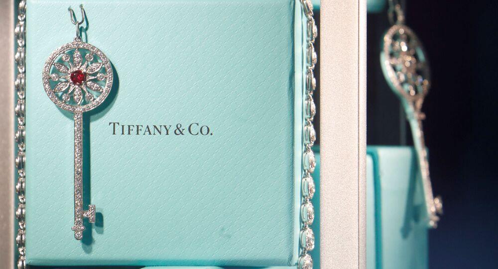 Unas cajitas de Tiffany con joyas