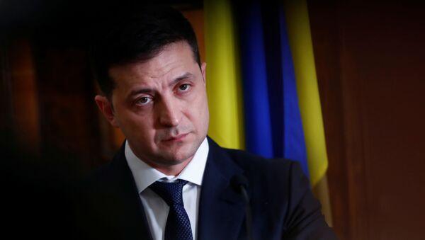 Volodímir Zelenski, el presidente ucraniano - Sputnik Mundo