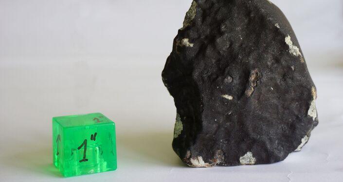 Imagen de meteorito que cayó en Uruguay