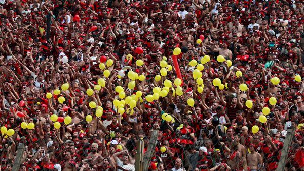 Hinchas de Flamengo - Sputnik Mundo