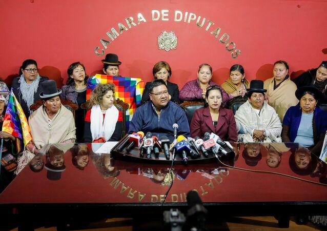 Diputados del Movimiento Al Socialismo (Archivo)