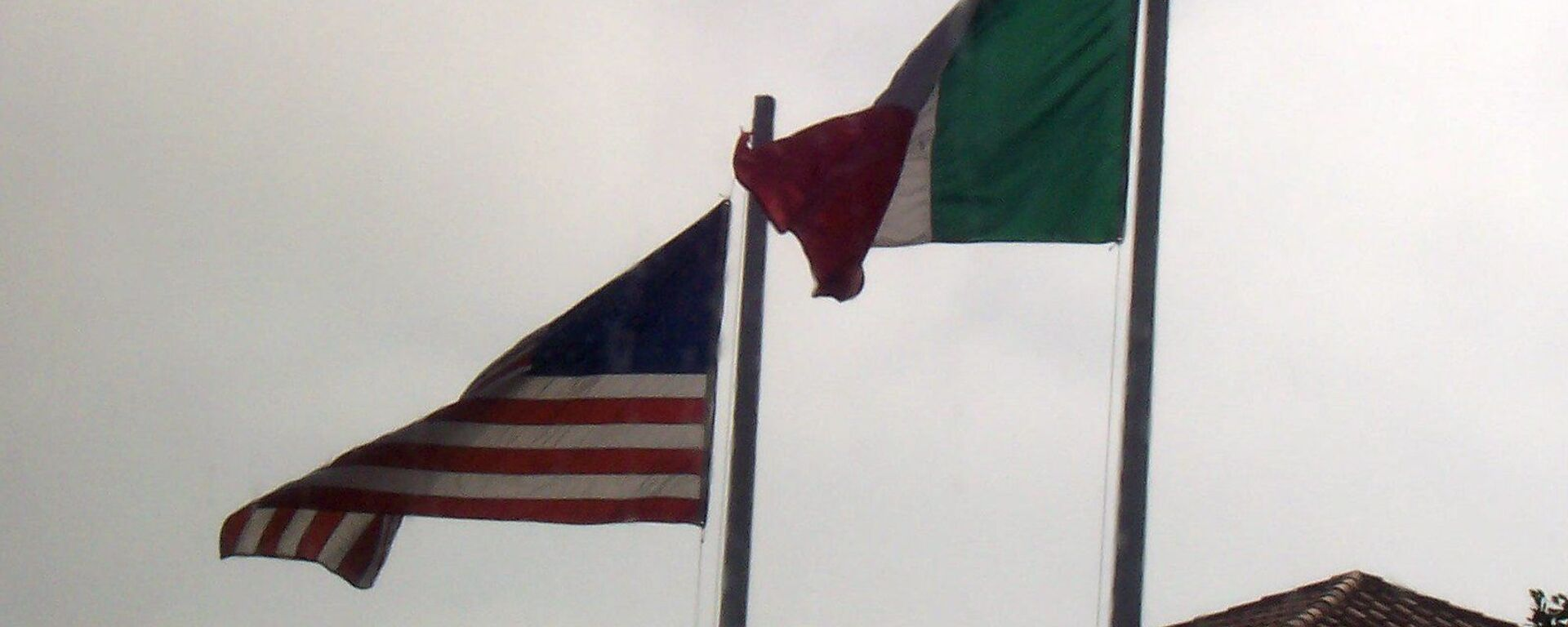 Banderas de EEUU y México - Sputnik Mundo, 1920, 20.05.2021