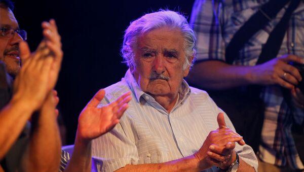 El expresidente de Uruguay José Mujica - Sputnik Mundo