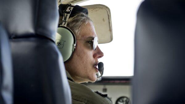 La teniente coronel María Eugenia Etcheverry Othon, aviadora - Sputnik Mundo