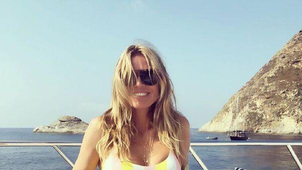 Heidi Klum, supermodelo alemana - Sputnik Mundo