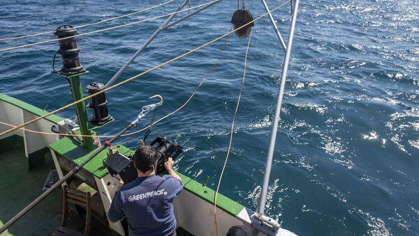 Testigos de la devastación del suelo marino en el agujero azul de Argentina - Sputnik Mundo