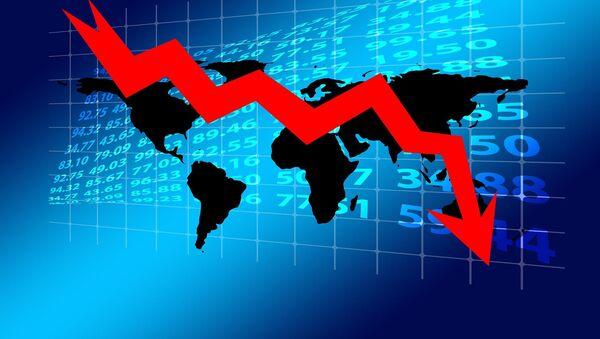 Recesión económica (imagen referencial) - Sputnik Mundo