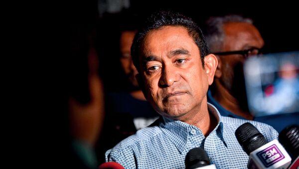 Abdulla Yameen, el expresidente de las Maldivas  - Sputnik Mundo