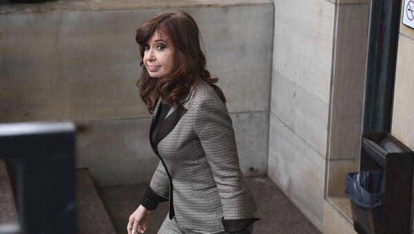 Cristina Fernández, la vicepresidenta electa de Argentina - Sputnik Mundo