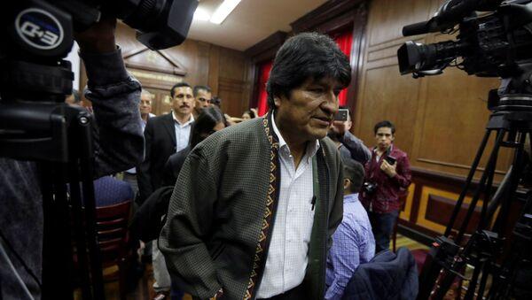 Evo Morales, el expresidente boliviano - Sputnik Mundo