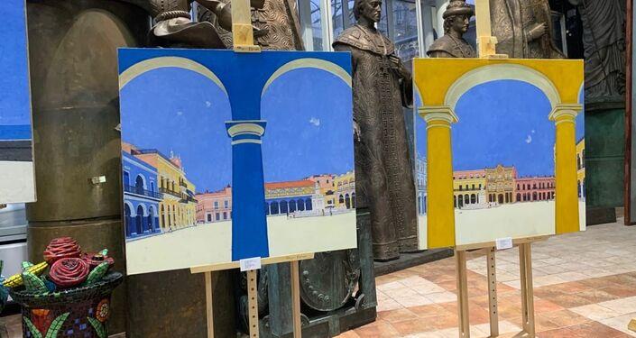 La exposición 'Oh, Habana!' en Moscú