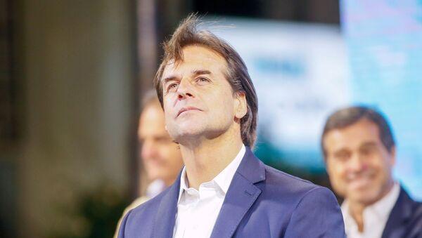 Luis Alberto Lacalle Pou, presidente electo de Uruguay - Sputnik Mundo