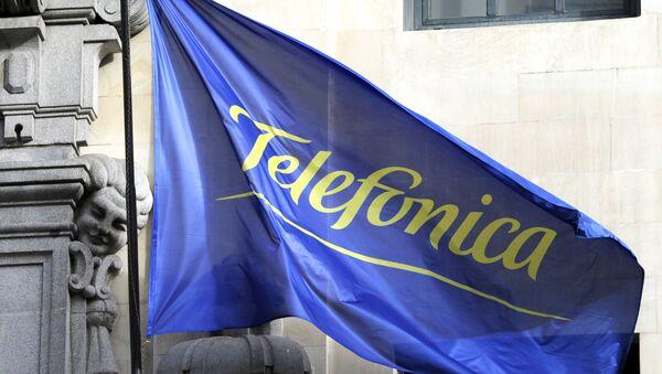 Bandera de Telefónica - Sputnik Mundo
