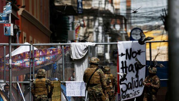 Los militares en Bolivia - Sputnik Mundo