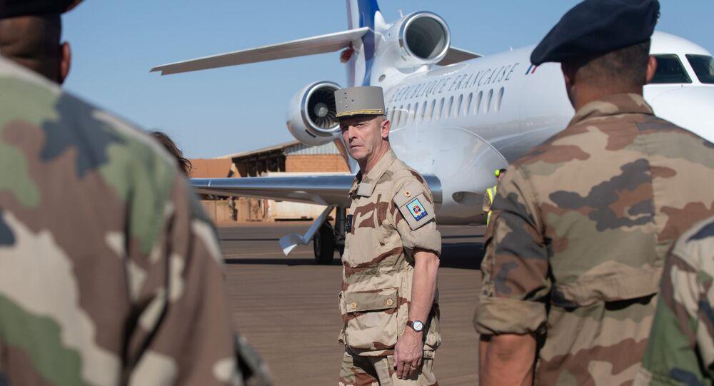 El general François Lecointre, jefe del Estado Mayor de las Fuerzas Armadas de Francia