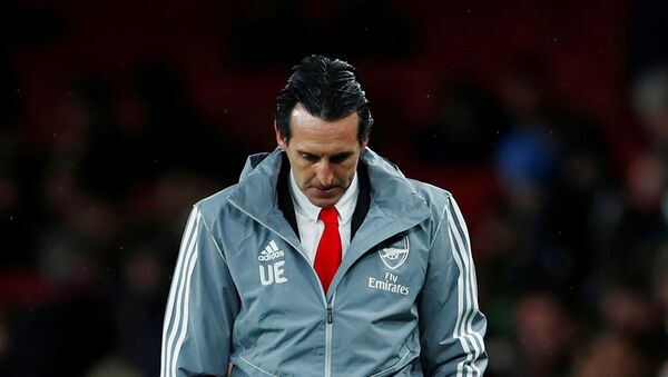 El español Unai Emery, exentrenador del FC Arsenal - Sputnik Mundo