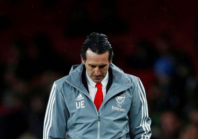 El español Unai Emery, exentrenador del FC Arsenal